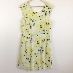 ModCloth | Sunny girl bird house dress
